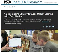 Science and the STEM Classroom newsletter